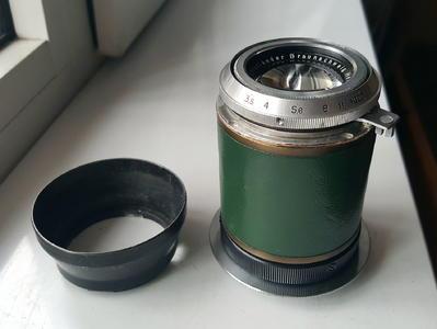 少见的 , 海利亚 voigtlander HELIAR105/3.5镜头,改口M42