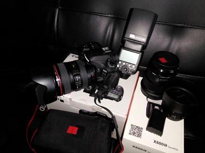 佳能 80D单机  99新  佳能镜头  适马镜头