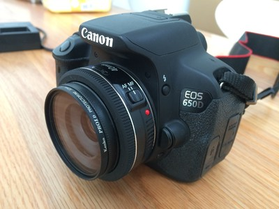 佳能 650D + 40mm 2.8f
