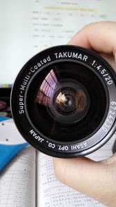 宾得 PENTAX S-M-C TAKUMAR 20 4.5 M42口 超广角定焦手动镜头