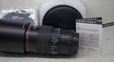 佳能EF100mm f/2.8L IS USM微距镜头欢迎议价支持交换
