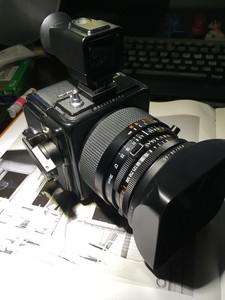 Hasselblad 903 SWC 带CPL 两个后背 uv 橙色很好