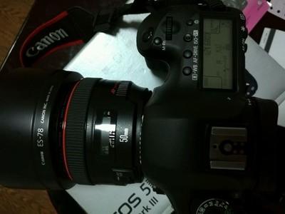 转让5D3+50L镜头