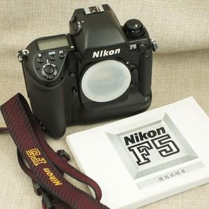 收藏成色 尼康 F5 旗舰自动对焦 胶片机 顺丰包邮