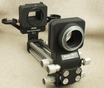 尼康 PB-4 摇摆皮腔 + PS-4 翻拍仪 拍微距 可移轴