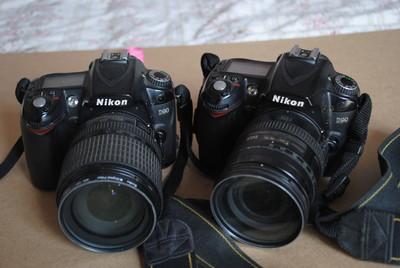 尼康 D90   2机2镜头打包出