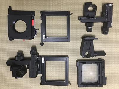 仙娜 Sinar P2 4x5 +4镜头 全套设备