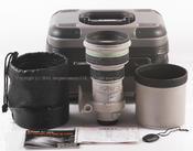 佳能 EF 400/4 DO IS USM,原厂铝箱,光罩 #HK6905