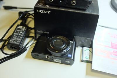 出一手自用国行 索尼 RX100