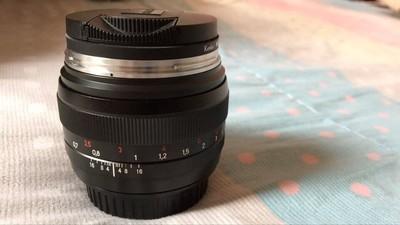自用佳能口-卡尔·蔡司 Planar T* 50mm f/1.4 ZE