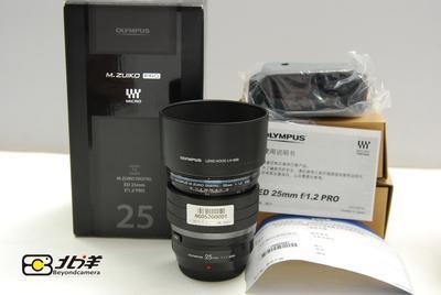 99新奥林巴斯M ZD 25/1.2 PRO大陆行货带包装(BG05200001)