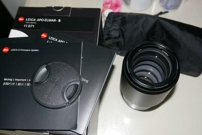 99新徕卡S镜头 Summicron-S100mmf/2ASPH 包装齐全