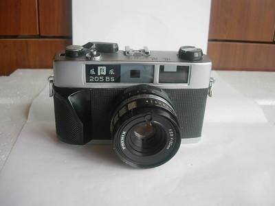 很新凤凰205ES金属造相机,有测光,多次曝光,收藏使用