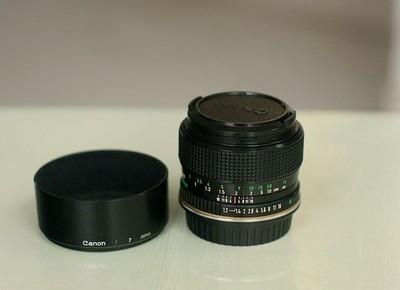 佳能FD 50 1.2 大光圈镜头(已改EF口)