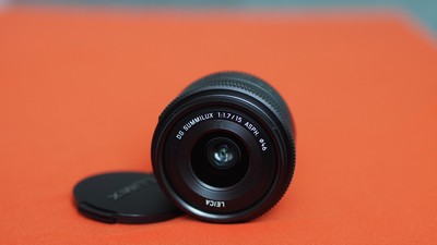 松下 LEICA DG15mm f/1.7  M43 微单镜头 莱卡 DG15(已售)