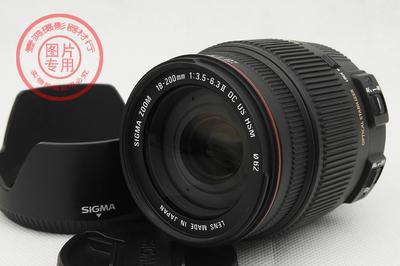 适马 18-200mm f/3.5-6.3 II DC OS HSM二代红圈 尼康口