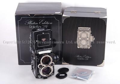Rolleiflex/禄来双反 2.8F Platin 铂金机限量500台#JP17404