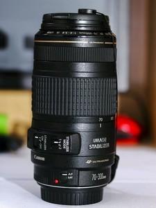 自用 佳能 EF 70-300mm f/4-5.6 IS USM 转手 (可小刀)