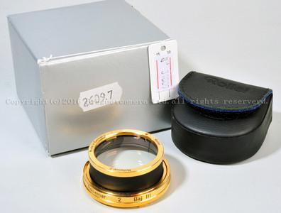 Rolleiflex/禄来镀金近摄镜 Rolleinar 2 Baj III  #31809