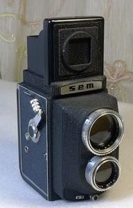 传奇双反神机法国Sem 索姆配罕见的150mm Berthiot 中焦头有样片