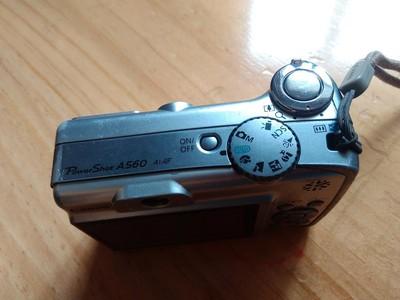 Canon佳能A560数码相机710万CCD光学4倍变焦2.5寸屏158包邮