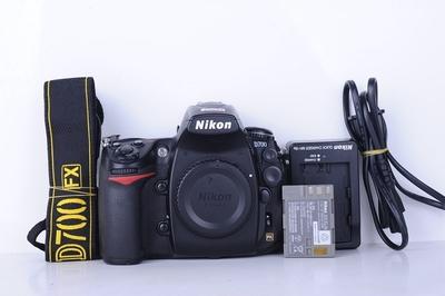 95新二手 Nikon/尼康 D700 单机身 快门6000次