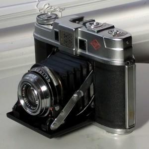 中画幅皮腔折叠相机四大天王之爱克发Agfa Automatic 66收藏珍品