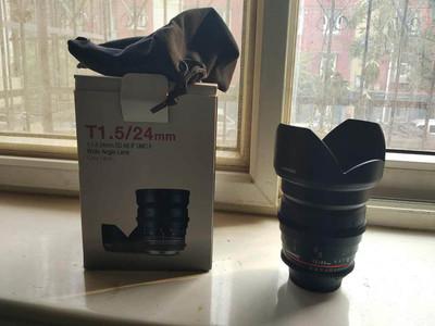 三阳24mm T1.5二代电影镜头 尼康口