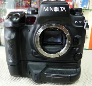 MINOLTA/美能达顶级胶片单反a9带VC-9原厂手柄 成色很新