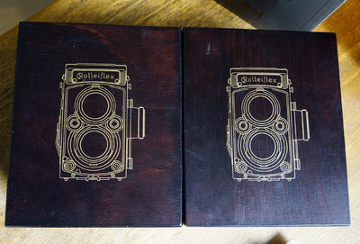 禄莱75周年纪念版2.8GX两台连号机