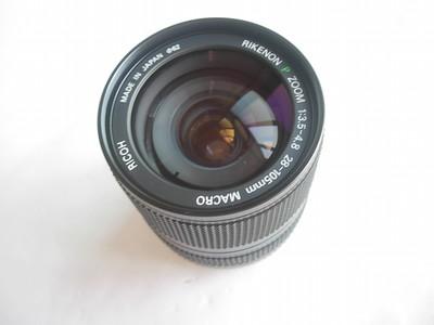 极新日本原装理光28--105金属制造双环镜头,小巧少见,收藏使用