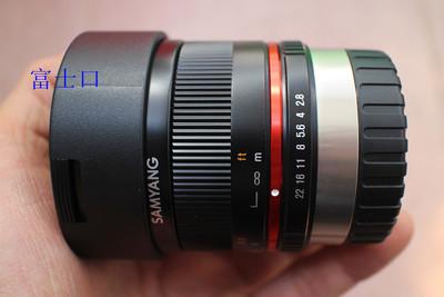 行货三阳超广角鱼眼镜头8mm
