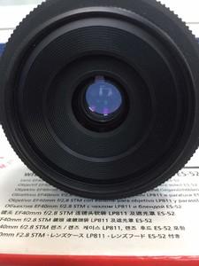 佳能 EF 40mm f/2.8 STM大陆行货刚过保