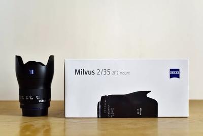 卡尔·蔡司/Ziess猎鹰Milvus 35mm f/2 ZF手动镜头 广角 尼康卡口