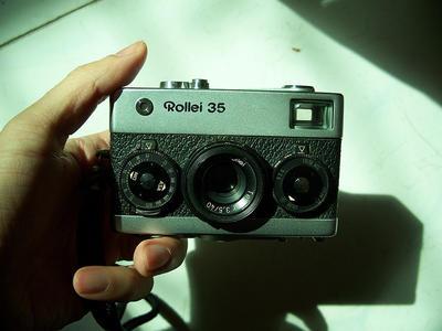 禄来rollei 35 carl Tessar 40 3.5经典旁轴胶片金属相机