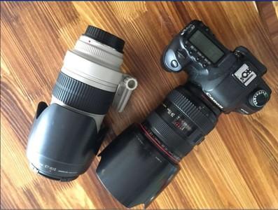 自用佳能 5D Mark II,带两个镜头,整套出。