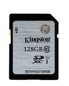 金士顿 SDXC卡 Class10(128GB)/SDX10V