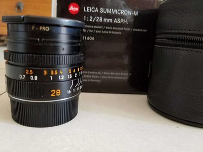 Leica Summicron-M 28 mm f/ 2 Asph