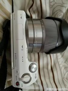 索尼 NEX-5N 套机 白色 快门900多