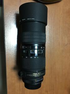 99新尼康 Nikon 70-180mm F4.5-5.6 AF-D 全程微距镜皇