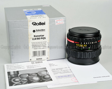 Rollei/禄来  Xenotar 80/2.8 PQS 6000/6000AF系统用 # HK7065