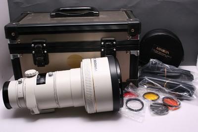 美能达AF300/2.8 美能达300/2.8 美能达 300mm F2.8 索尼口