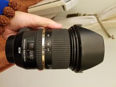 腾龙 SP 24-70mm f/2.8 Di VC USD(Model A007)佳能口,送UV