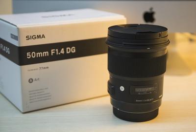 佳能口适马 50mm f/1.4 DG HSM(A)成色极好