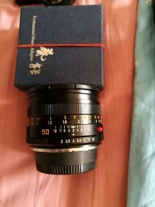 Leica Summicron-R 50 mm f/ 2.0 E55 已改尼康口可还原
