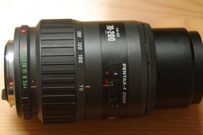 宾得 pentax-f zoom 70-200mm 1:4-5.6