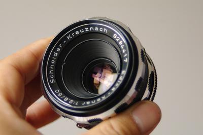 施耐德 kreuznach Edixa-Xenar 50mm F2.8 M42螺丝口手动镜头