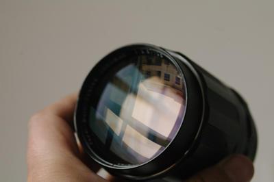 宾得太苦玛名镜 S-M-C 135mm f2.5 M42手动镜头最好版本
