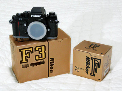 尼康F3HP高视点胶片单反顶级专业机(三码合一全新个人一手收藏)