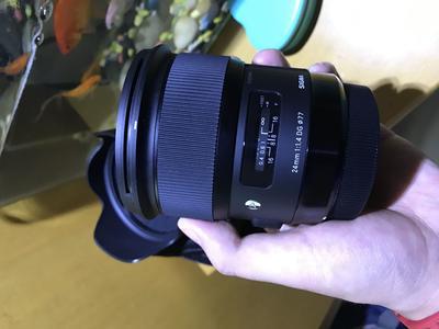 适马 24mm f/1.4 DG HSM Art 佳能口